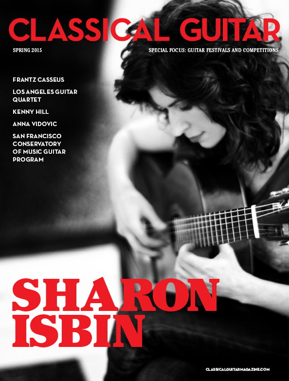 Classical Guitar Spring 2015 Cover