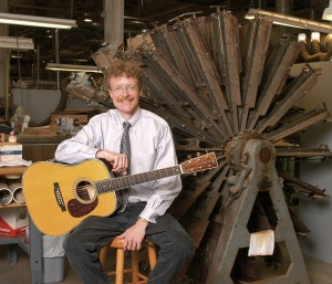 Martin Guitar CEO Chris Martin IV is a longtime advocate for the use of sustainable woods