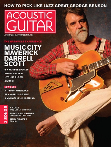 Acoustic Guitar, August issue cover