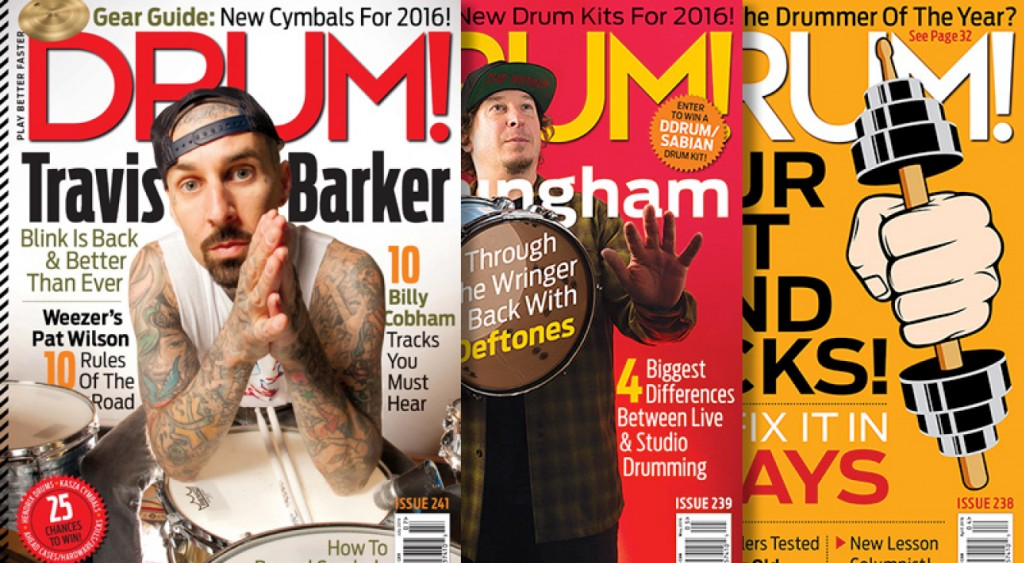 drum magazine recent issue covers graphic design job